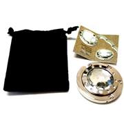 Держатель-крючок для сумок Elegant Элегант (серебристый), Любая женщина придет в восторг от такого подарка!