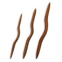 Спицы для вязания кос изогнутые бамбуковые, Koshitsu, KA Seeknit, 05117