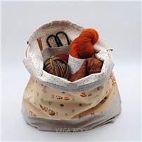 Проектная сумка (большая) Пара енотов