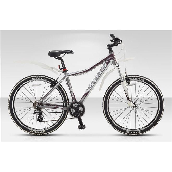 Велосипед Stels Miss 7300 (2014) Серебро-матовый , интернет-магазин Sportcoast.ru