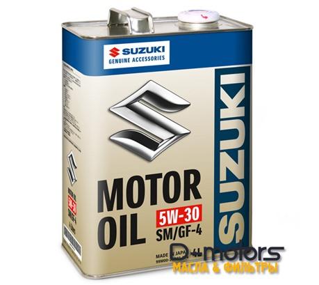 Моторное масло Suzuki Motor Oil 5w-30 Sm/Gf-4 (4л.)