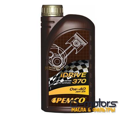Моторное мало Pemco Idrive 370 0w-40 (1л.)