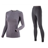 Комплект женского термобелья Guahoo: рубашка + лосины (21-0611 S/DGY / 21-0611 P/DGY)