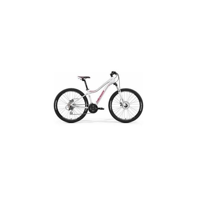 Велосипед Merida Juliet 6.20MD Matt White/Pink (2017) , интернет-магазин Sportcoast.ru
