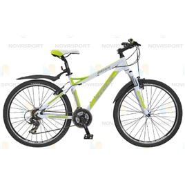 Велосипед Stels Miss 8100 V 26 (2015) Белый/Зеленый , интернет-магазин Sportcoast.ru