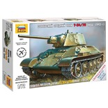 Сборная модель Звезда Танк средний советский Т-34/76 образца 1943 (1:72) 5001