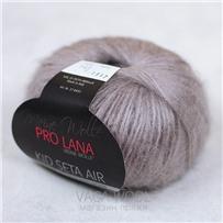 Пряжа KID SETA AIR, Жемчужно-серый 143, 150М В 50Г, Pro Lana