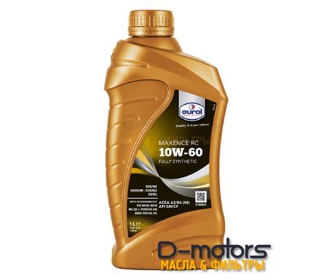 Моторное масло Eurol Maxence RC 10W-60 (1л.)