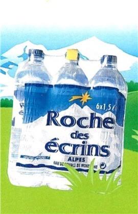 Скидка 10% на альпийскую воду Roche des Ecrins 1,5 л