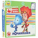 Игра-ходилка настольная детская Звезда Фиксики Починялки 8931