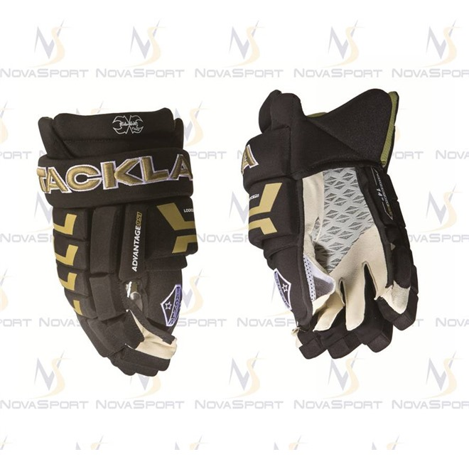 Перчатки игрока Tackla Advantage 951 black/gold/white , интернет-магазин Sportcoast.ru