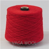 Пряжа Coast Мак 123, 350м в 50г, Knoll Yarns, Poppy