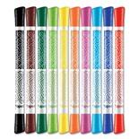 Фломастеры смываемые двусторонние Maped Color'Peps Duo 10 цветов 849010