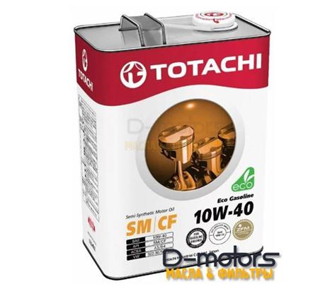 TOTACHI ECO GASOLINE 10W-40 (4л.)