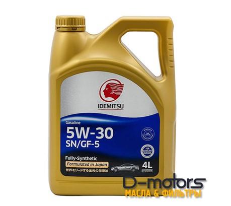 Моторное масло Idemitsu 5W-30 (4л.)