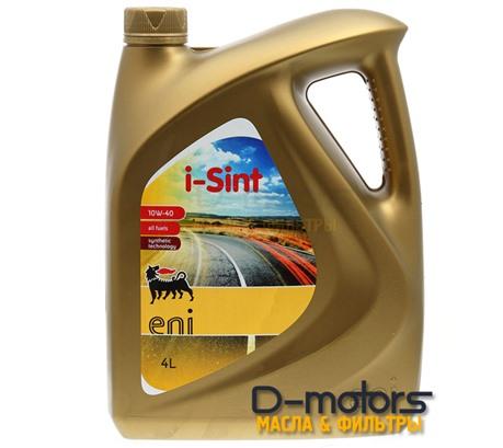 Моторное масло Eni I-Sint 10W-40 (4л.)