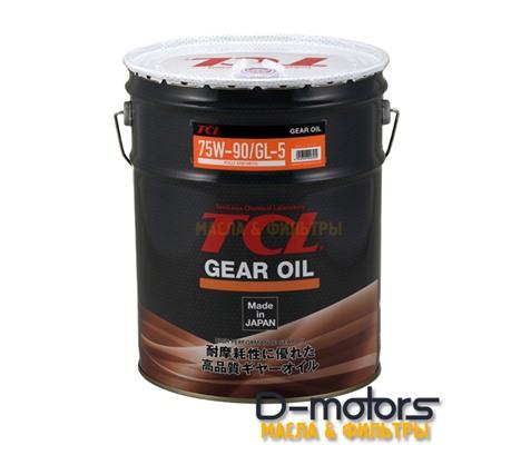 Трансмиссионное масло для механических коробок передач TCL Gear 75W-90 (20л)