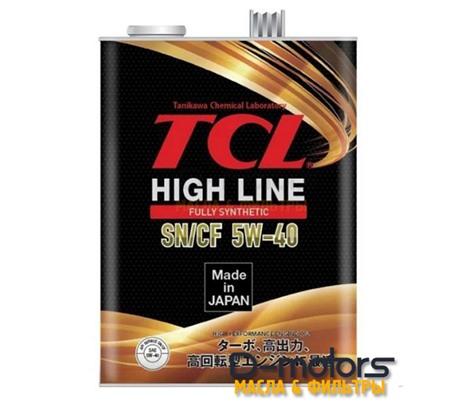 Моторное масло TCL High Line 5W-40 SN/CF (4л.)