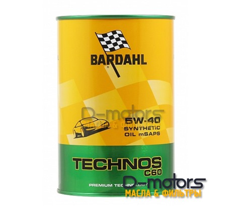 Bardahl Technos C60 5W-40 mSAPS (1л)