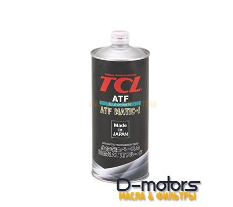 Трансмиссионное масло для автоматических коробок передач TCL ATF MATIC J (1л)
