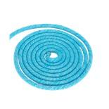 Скакалка для художественной гимнастики PRO RGJ-103, 3 м, голубой с люрексом