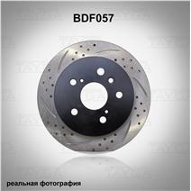 BDF057. Задняя ось. Перфорация + слоты