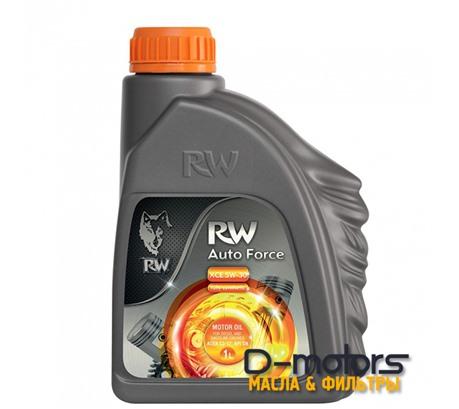 Моторное мало Rw Auto Force Xce 5w-30 (1л.)