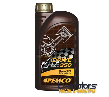 Моторное мало Pemco Idrive 350 5w-30 (1л.)