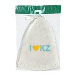 Шапка для бани Банные Штучки I love KZ (войлок) 41172